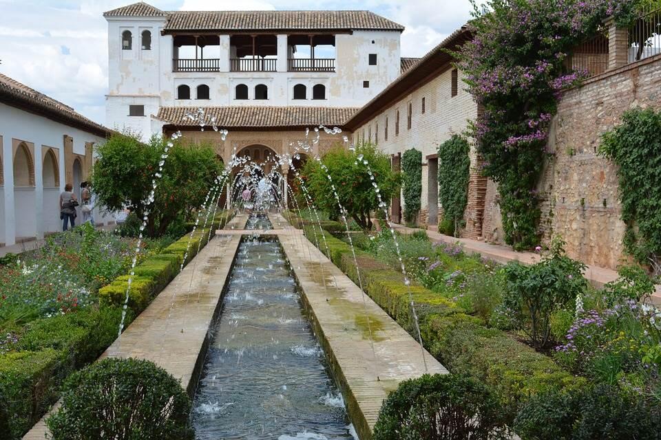 スペインの庭1