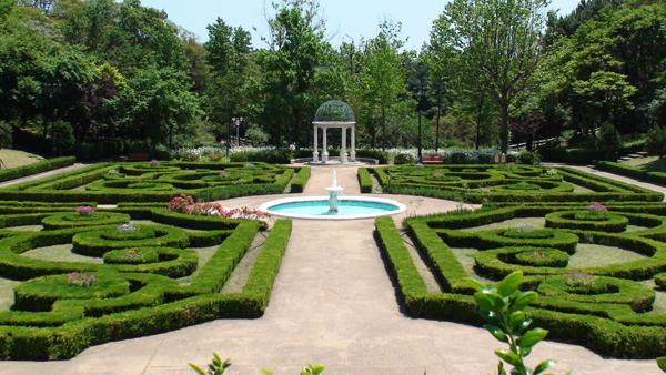 フランスの庭1